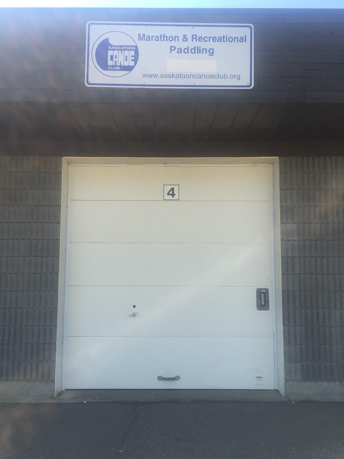 Photo of the door at bay 4 closed